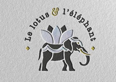 Le lotus & l'éléphant
